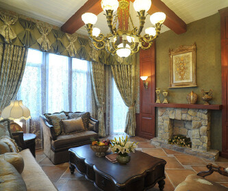 483平米大别墅美式风格...