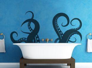 形象生动的墙体彩绘设计