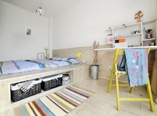 木质地台 我的森系小卧室