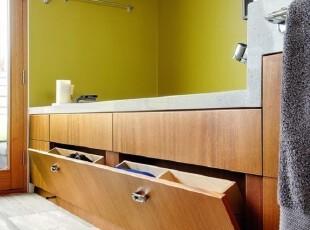 浴室鞋柜收纳的巧设计