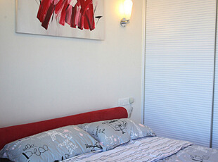 简约婚房卧室