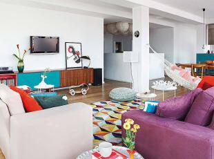 休闲开放式公寓装修设计