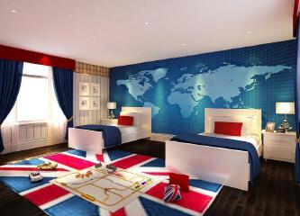 海洋般的温馨,淡蓝色壁纸案例精选