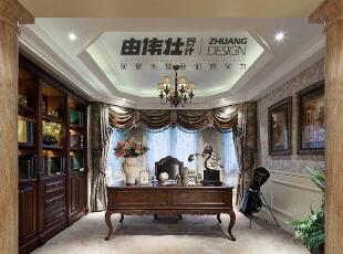张家港样板房380㎡—古典美式风『古堡』