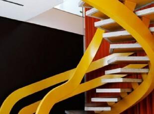 科幻实木楼梯设计图片