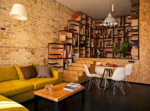 家中图书馆 创意loft设计