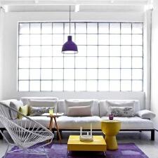 紫色家居装饰 冷傲和浪漫的结合体