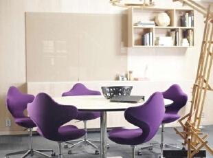 紫色巧扮餐厅