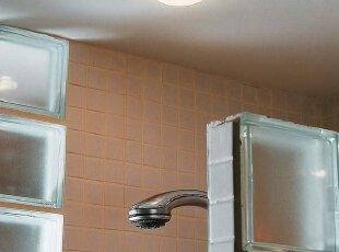 整体卫生间浴室内的防水照明