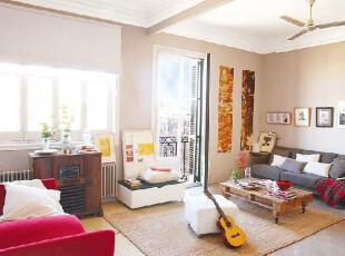 二手房欧式简约客厅的设计