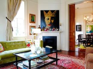 玻璃桌装饰的简约客厅
