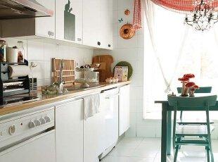 小资情调 白色厨房
