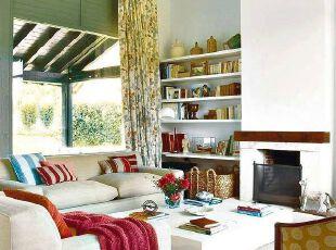 田园公寓客厅 色彩的秘密集合