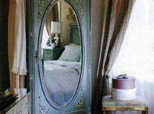 欧式复古卧室个性整衣镜