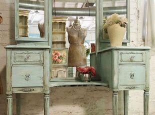 做旧家具对欧式复古家居的装饰