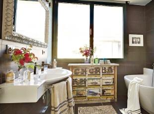 仿古浴室 在亲水间沉淀时光