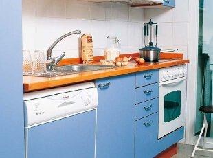 厨房挥洒年轻的色彩
