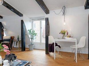 阁楼开放性空间装修设计