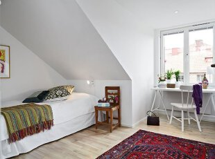 巧设计:墙角下的卧室间