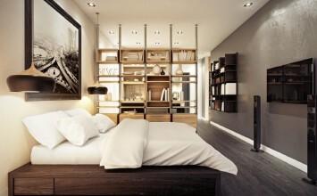 透视空间设计 32平气质小公寓