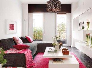 相同白色扩容小客厅