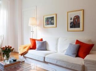 舒适的生活从柔软沙发...