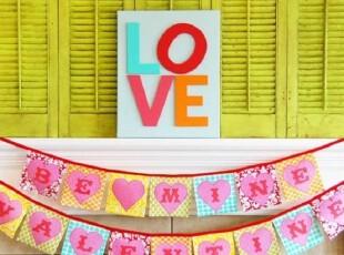 彩色的房间装饰 双倍的爱