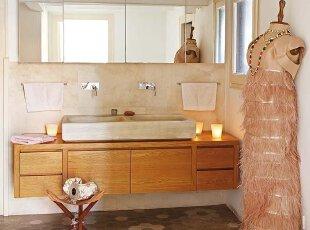 大理石简单装饰大气现代的卫生间