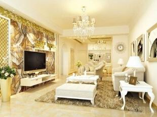 优雅欧美田园客厅家具...