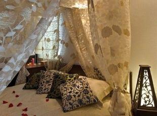 东南亚风格饰品 装扮异域卧室
