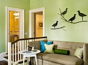 春色儿童房的绿色家装