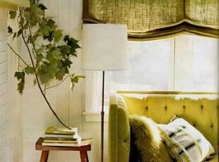 春色客厅家装绿色装饰