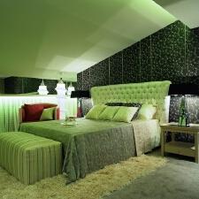 如何用绿色布置春色家装
