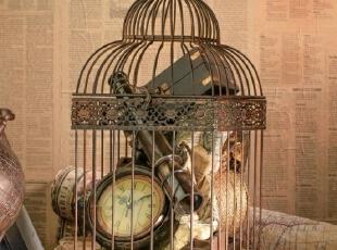 家庭收纳鸟笼玩复古