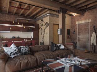 LOFT风格公寓 个性又复古