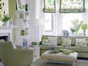 绿色系的春季家装
