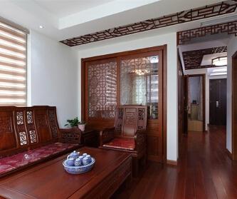 妙手改造一室一厅 中式风...