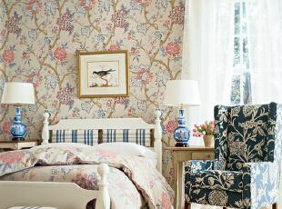 精致花色卧室 温馨浪漫