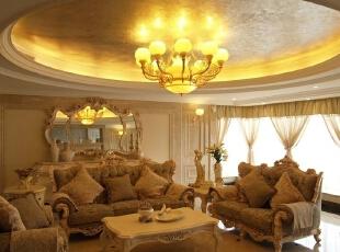 客厅沙发休闲区