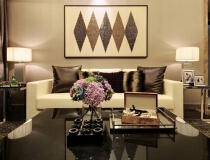 广州兰亭荟82平两居室现代简约风格