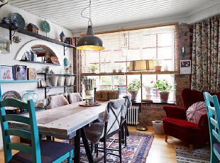 北欧的底搭上任何风格家居,无论小清新,民族风等等都可以轻松搭配出完美空间。