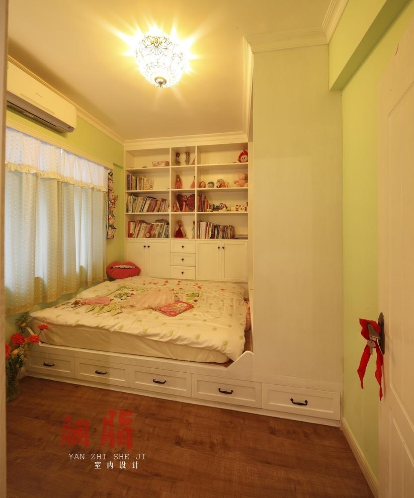 0平米两居美式风格-谷居家居装修设计效果图