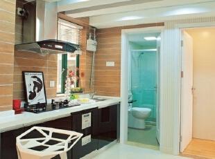 广州贝丽花园 8万打造66平现代简约两居