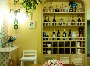 餐厅与吧台 酒柜