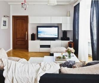 北花园60平时尚公寓设计