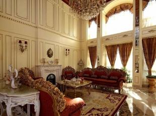 温哥华森林560平米宫廷风格别墅设计