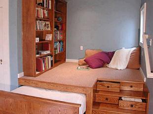 日式榻榻米卧室书房