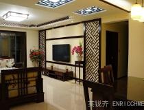 成都望江橡树林——150平中式现代三居室