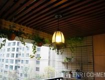成都中海锦城——120平古典美式三居室