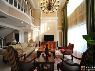 上海浅水湾——280平混搭风格别墅